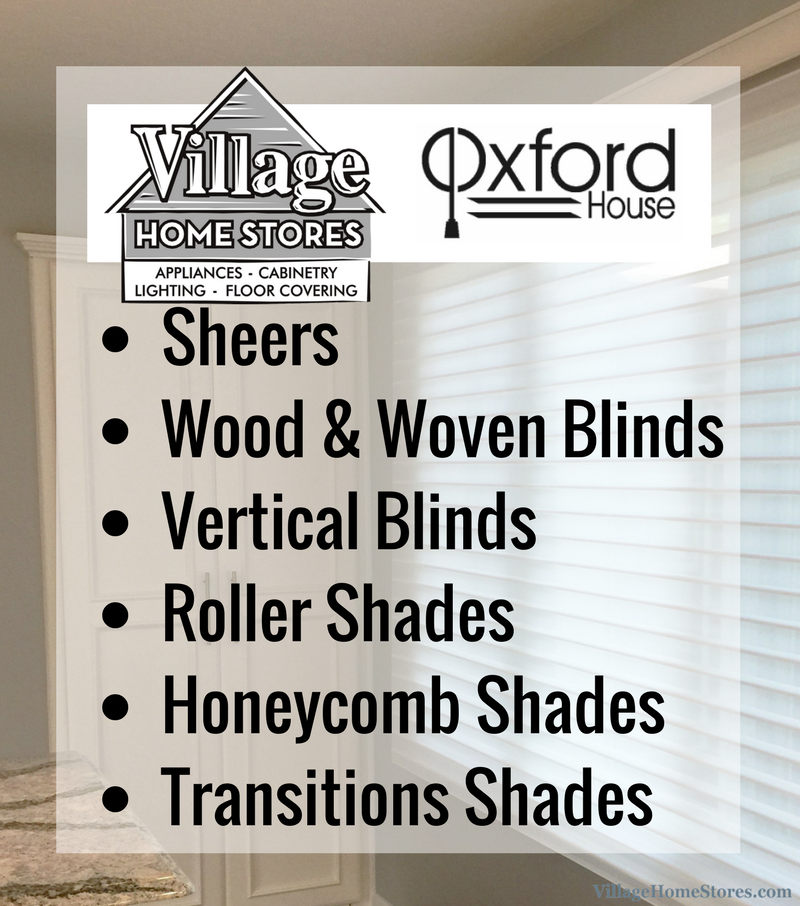 Window Treatment Options. | VillageHomeStores.com