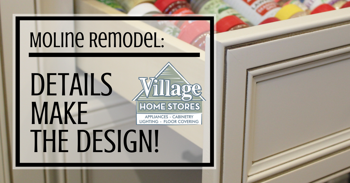 Moline, IL kitchen remodel by Village Home Stores