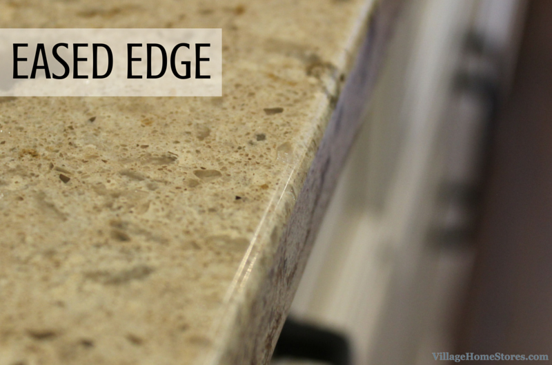 Eased countertop edge by Village Home Stores