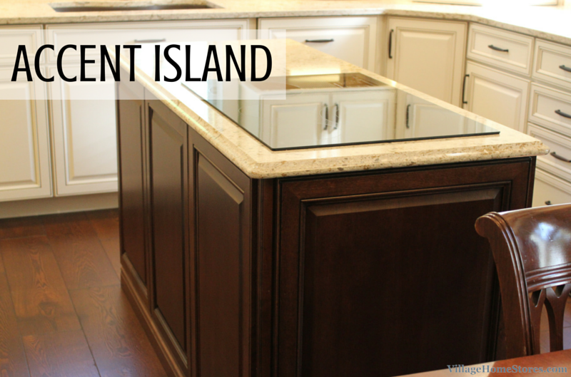 Accent kitchen island by Village Home Stores