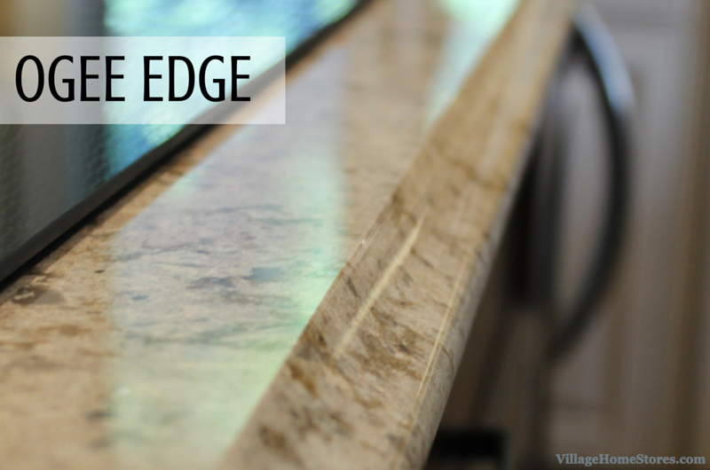 Ogee countertop edge by Village Home Stores