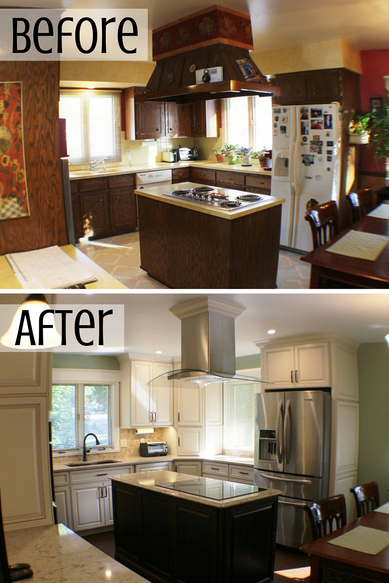 Moline remodel before and after by Village Home Stores