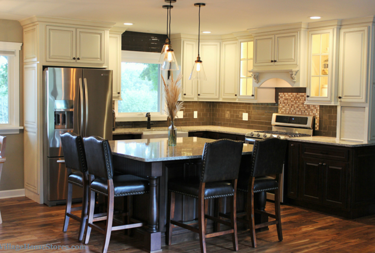 Main kitchen remodel by Village Home Stores