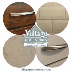 Modern kitchen finishes. | VillageHomeStores.com