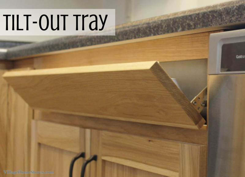tilt out tray for cabinets