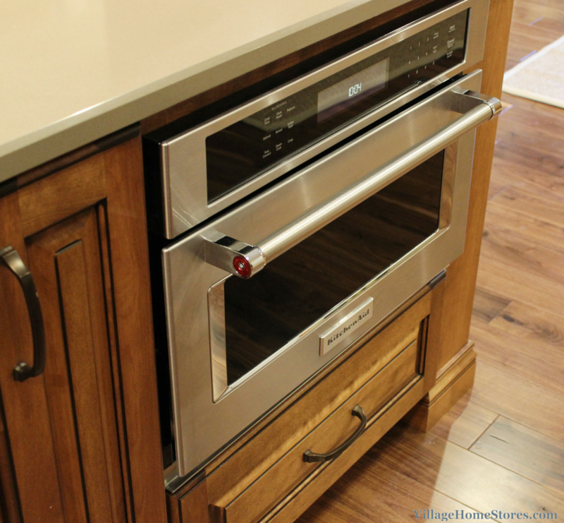 KitchenAid built-in convection microwave. | VillageHomeStores.com