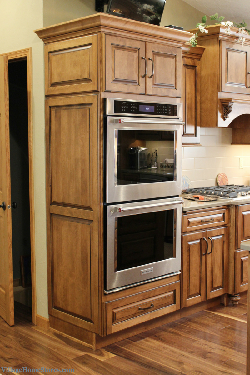 KitchenAid double wall ovens with True Convection. | VillageHomeStores.com