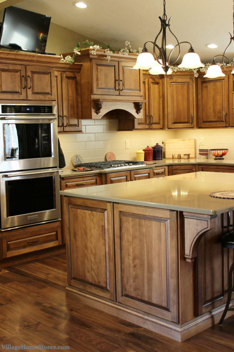 Kitchen remodeled by Village Home Stores. | VillageHomeStores.com