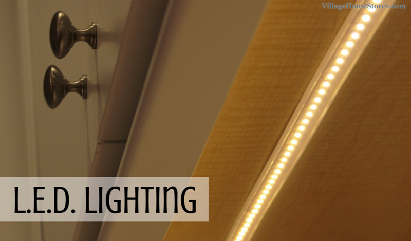 LED undercabinet lighting. | VillageHomeStores.com