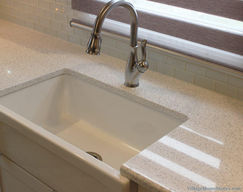 Cambria Whitney quartz counters. | VillageHomeStores.com