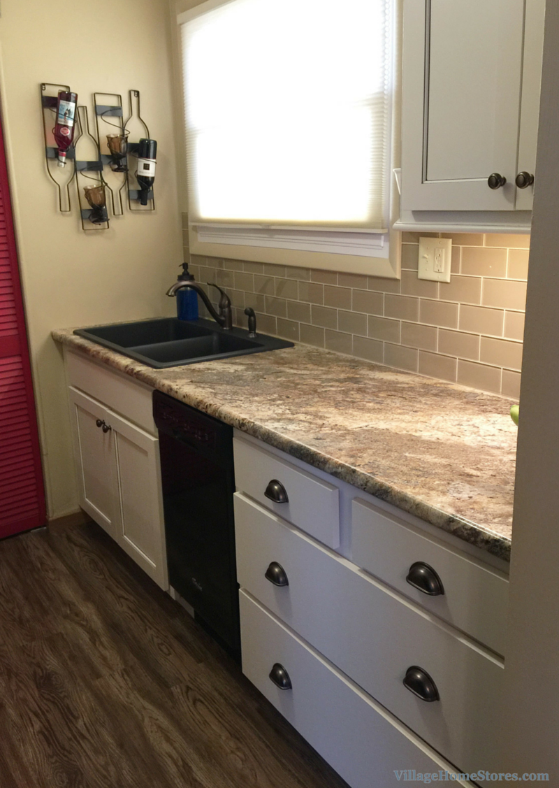 Small kitchen remodel. | VillageHomeStores.com