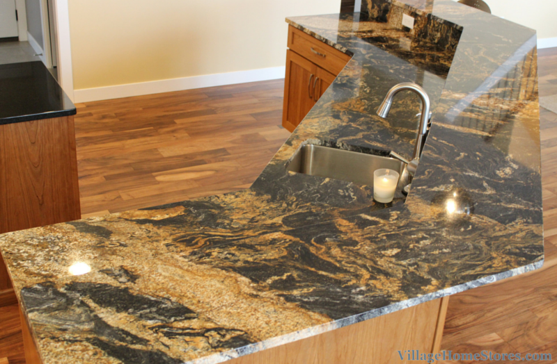Desert Dream granite counters. | VillageHomeStores.com