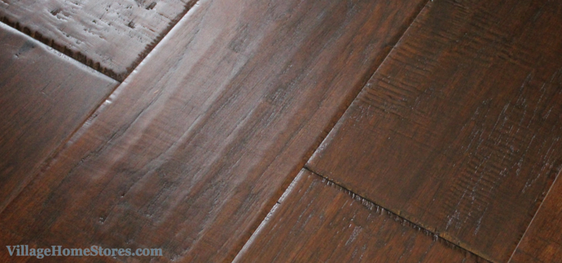 hickory hardwood dark finish. | VillageHomeStores,com