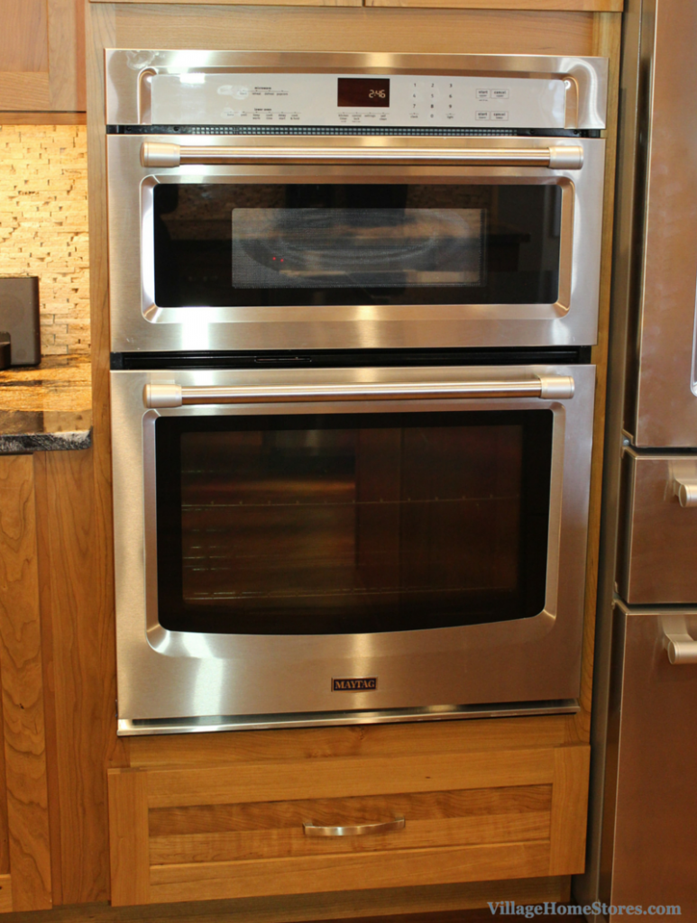 Maytag microwave wall oven combination. | VillageHomeStores.com