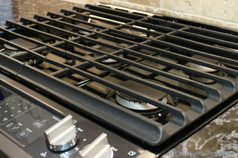 5 burner gas cooktop by Whirlpool. | VillageHomeStores.com