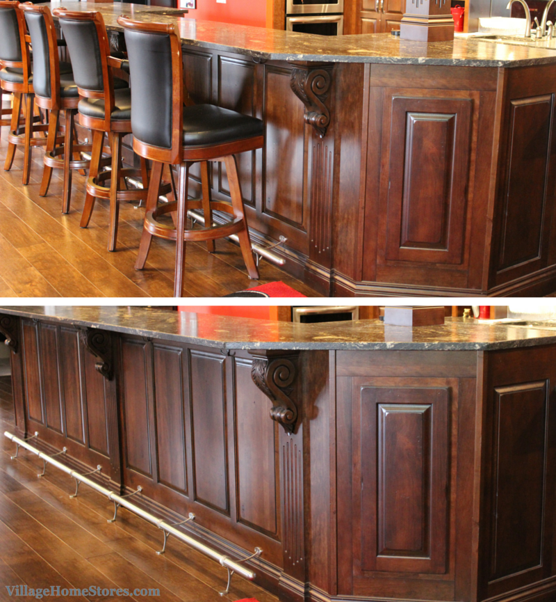 Wainscoting bar ideas. | VillageHomeStores.com