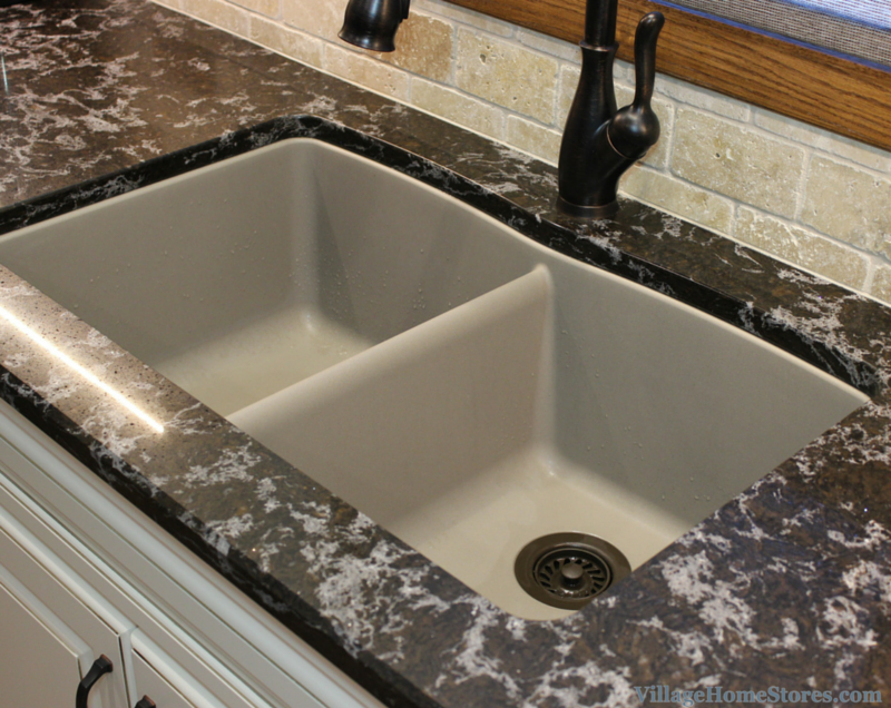 Blanco sink truffle color. | VillageHomeStores.com