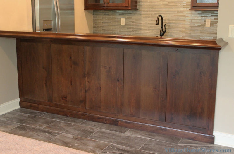 bar back panel and trim. | VillageHomeStores.com
