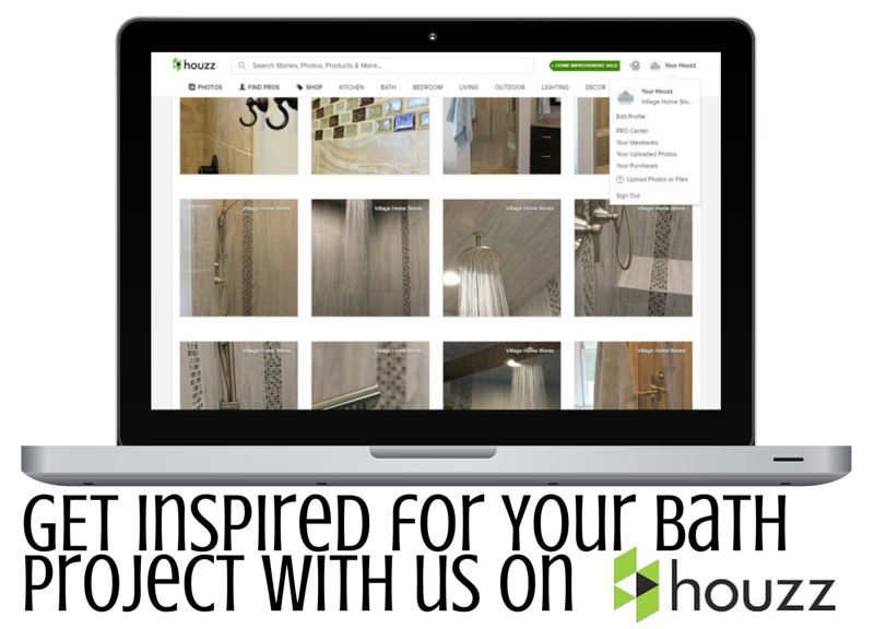 Houzz Master Bathrooms. | VillageHomeStores.com