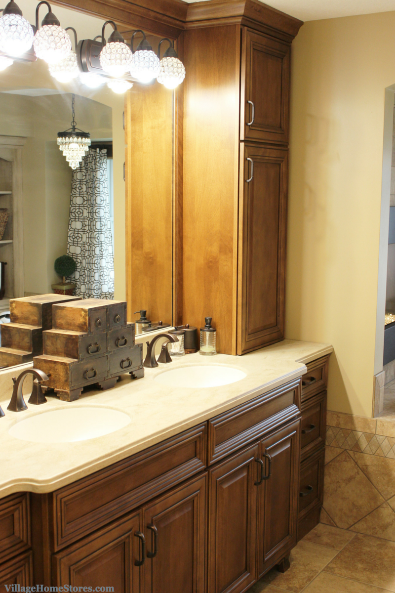 Geneseo il master bathroom remodel village home stores for Bathroom design quad cities