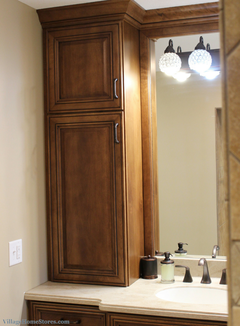 Master Bathroom Cabinetry Ideas. | VillageHomeStores.com
