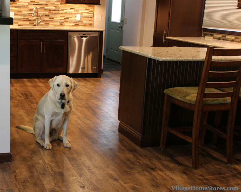 Pet friendly flooring by Mannington. | VillageHomeStores.com