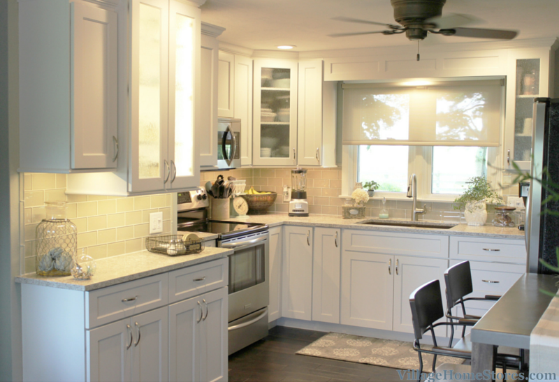 Kitchen remodeled in Kewanee, IL by Village Home Stores. | VillageHomeStores.com
