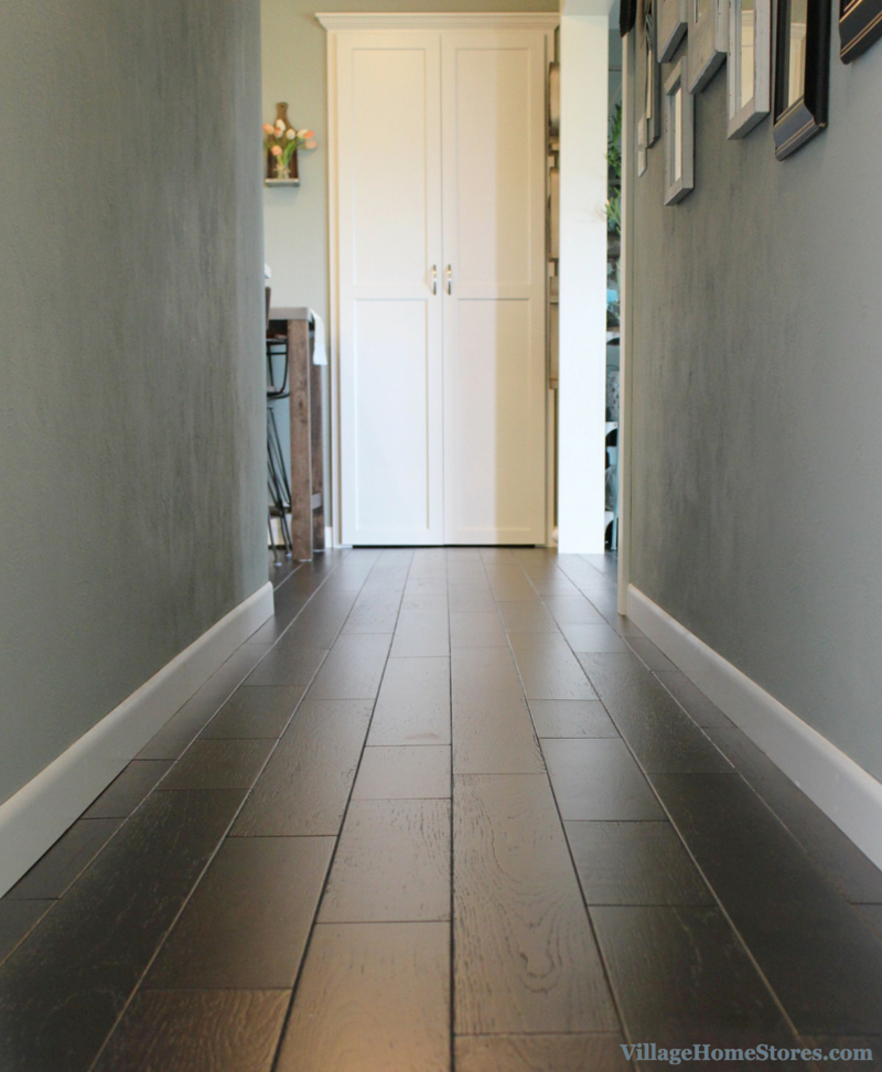 pantry door and flooring