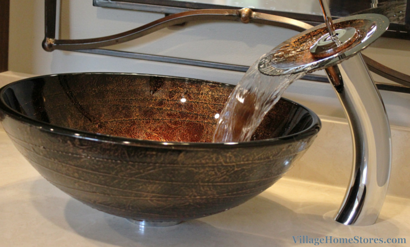 Unique vessel sink. | VillageHomeStores.com