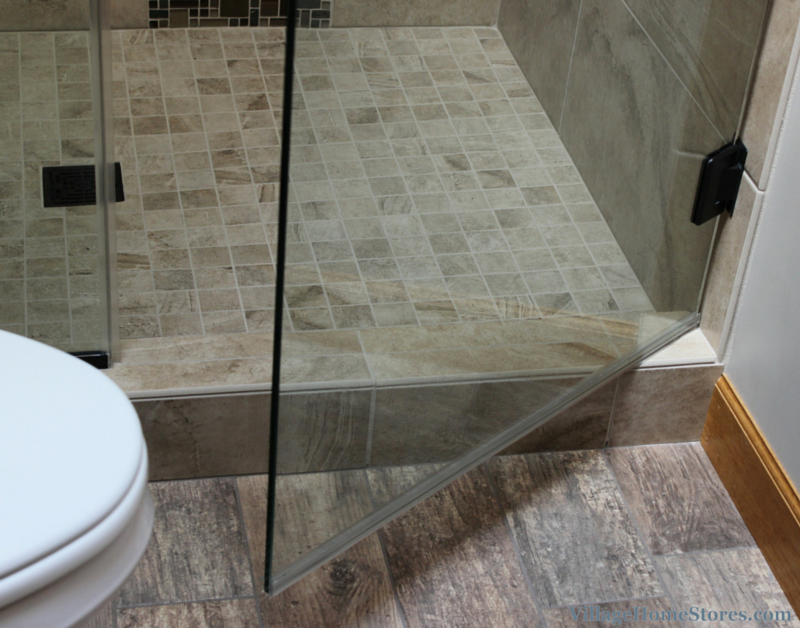 Tiling Bathroom Door Threshold custom shower archives - village home stores