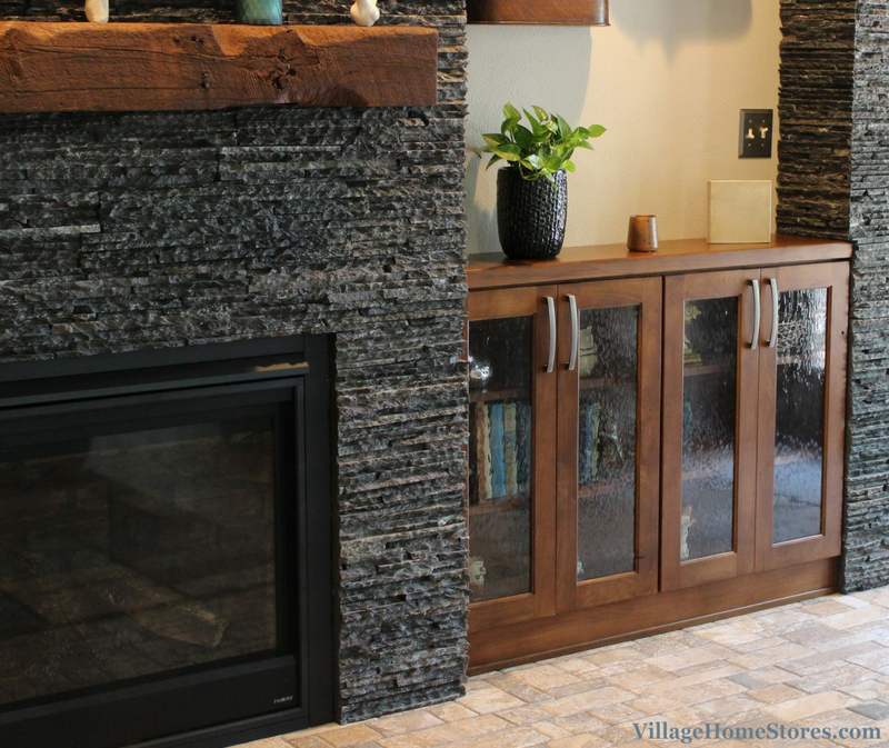 fireplace cabinetry to match new kitchen. | VillageHomeStores.com