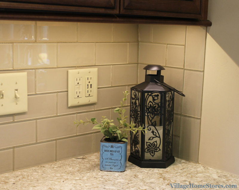Glass subway tile. | VillageHomeStores.com