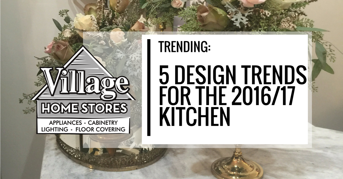 Trending 5 Design Trends For Your Kitchen