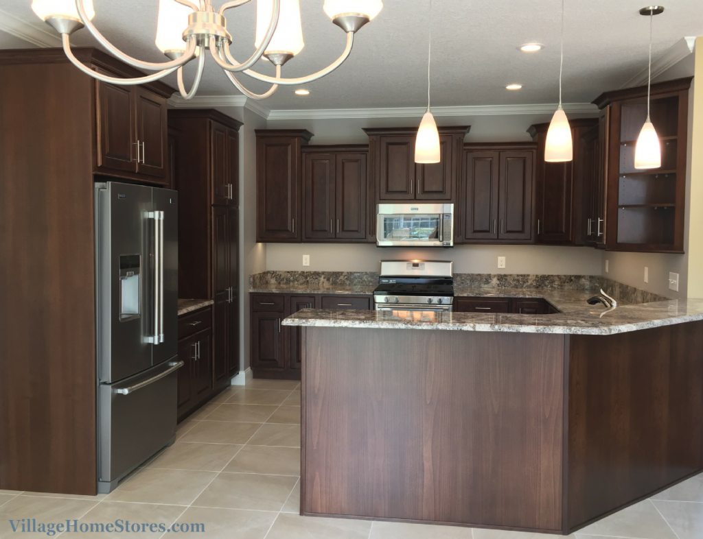 Kitchen With Ganache Granite Counters Villagehomestores Com