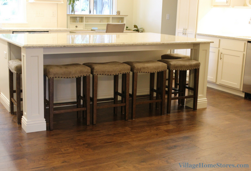 Large kitchen island with seating. | VillageHomeStores.com