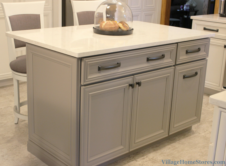Koch's Fog painted finish. | VillageHomeStores.com