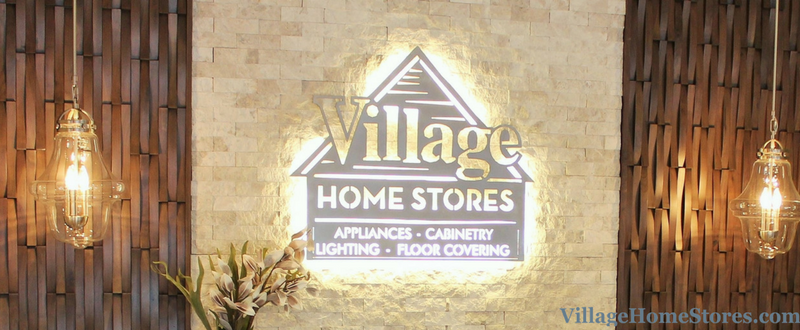 New Village Home Stores sign made by itsaschmollworld lit with our low-voltage Diode LED lighting system. | VillageHomeStores.com