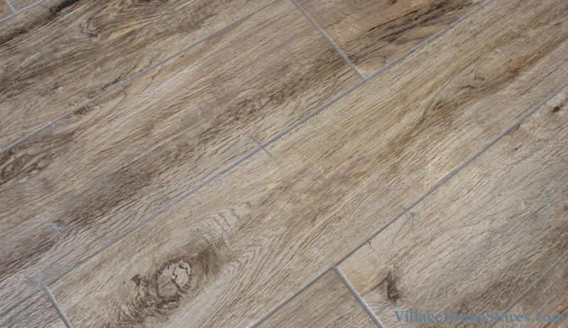 Wood look Marazzi tile from American Estates series an Natural color. | VillageHomeStores.com