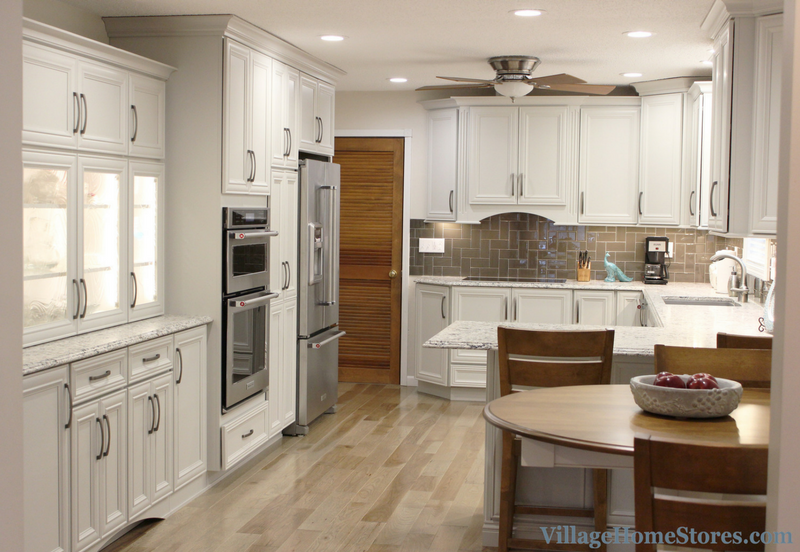 A Blue Grass, IA kitchen remodeled completely from start to finish by Village Home Stores. | VillageHomeStores.com