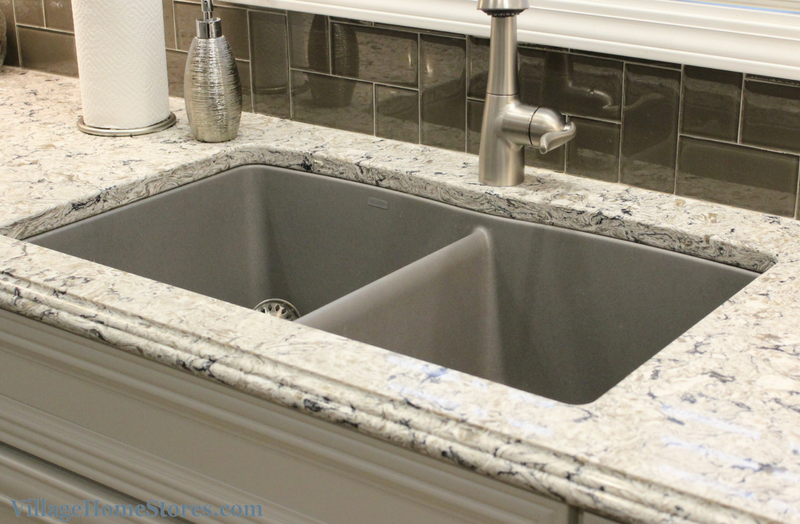 Granite composite undermount sink. | VillageHomeStores.com