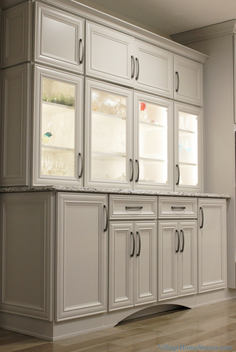 Custom kitchen hutch. | VillageHomeStores.com