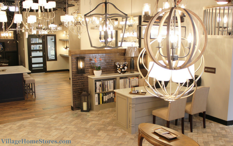 Lighting showroom Geneseo, IL | VillageHomeStores.com
