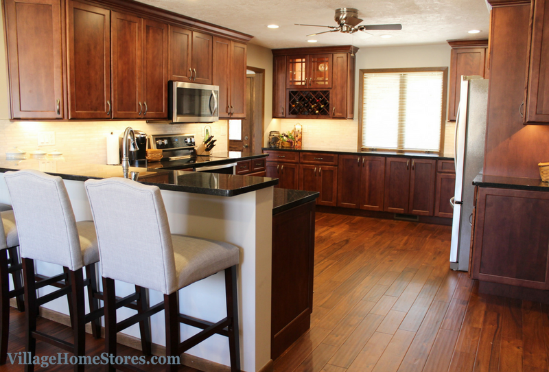 East Moline Kitchen remodeled from start to finish by Village Home Stores. | VillageHomeStores.com