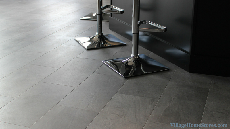 Luxury Vinyl Tile flooring by Adura in a home by Heartland Builders. | VillageHomeStores.com