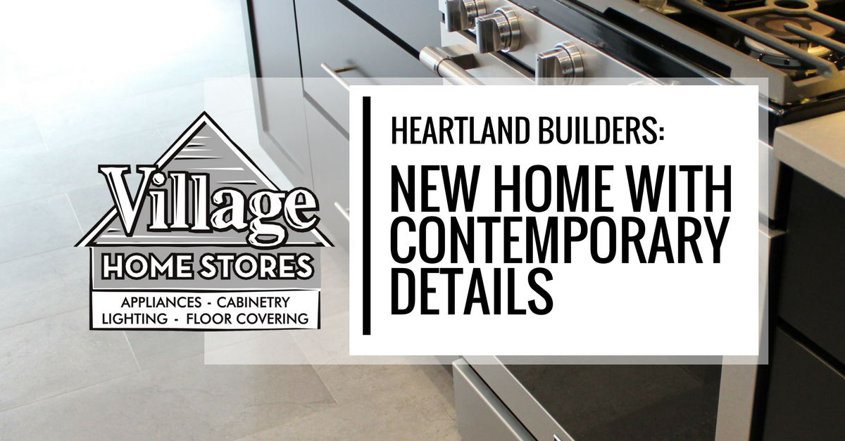 Heartland Builders A New Home With Contemporary Details