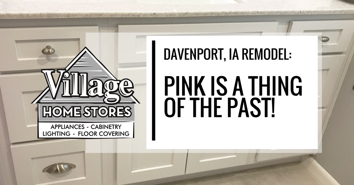 Davenport Ia Pink Bathroom Remodeled And Updated