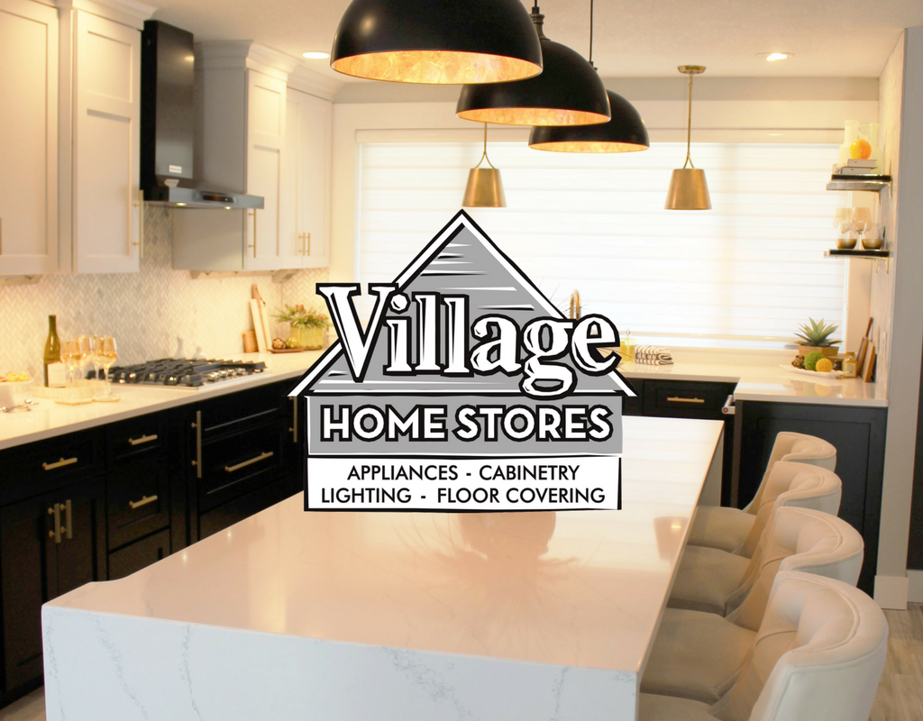 Quad Cities Black White And Gold Kitchen Remodel Village Home Stores