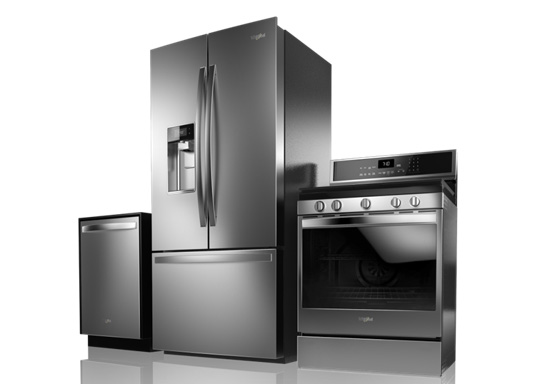New Black Stainless finish available now. Image provided by Whirlpool®