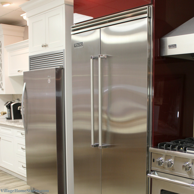 Built-in refrigeration options installed at counter depth. | VillageHomeStores.com