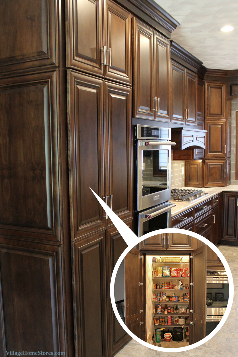 Koch cabinetry cabinet doors for walk-in pantry. | VillageHomeStores.com